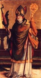A depiction of Saint Eramus