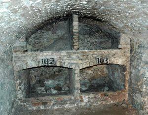 South Bridge Vaults in Edinburgh, Scotland